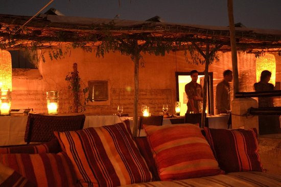 El Fenn: Rooftop Dining at Night