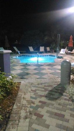 Marriott's Grande Vista : Hot tub at night