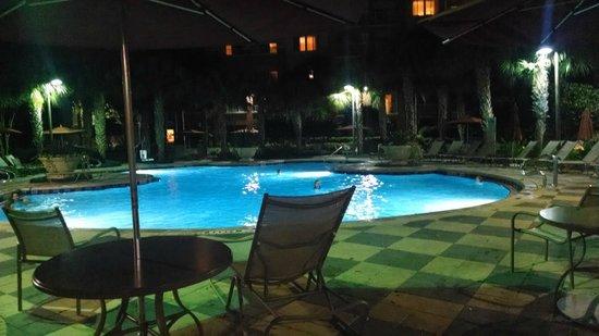 Marriott's Grande Vista : Pool at night