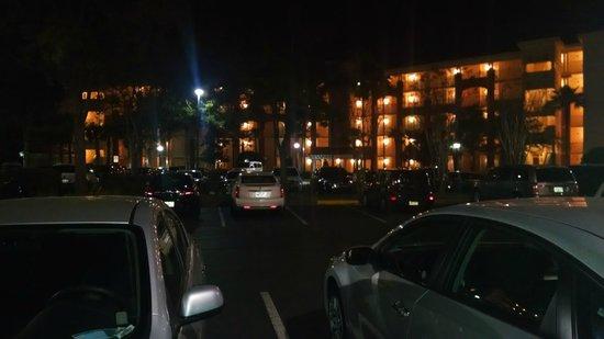 Marriott's Grande Vista : At night