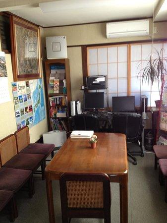 Ryokan Katsutaro: Communal room