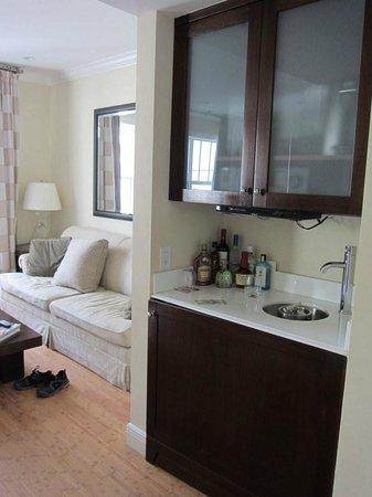 Kimpton Angler's Hotel : kitchen