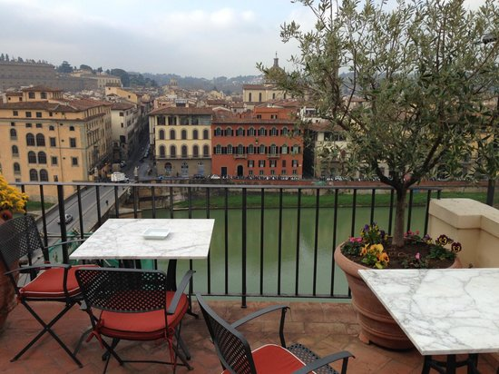 Antica Torre di Via Tornabuoni : Views from the roof top/dining room