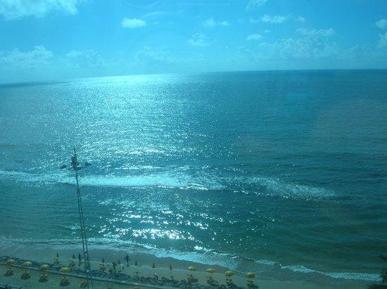 Hotel Atlante Plaza: Vista do elevador panorâmico