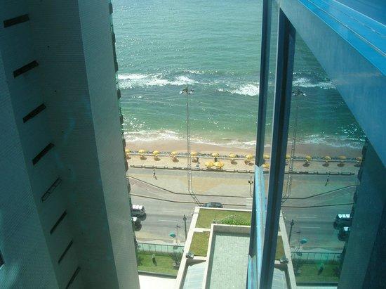 Hotel Atlante Plaza: Vista da janela do quarto