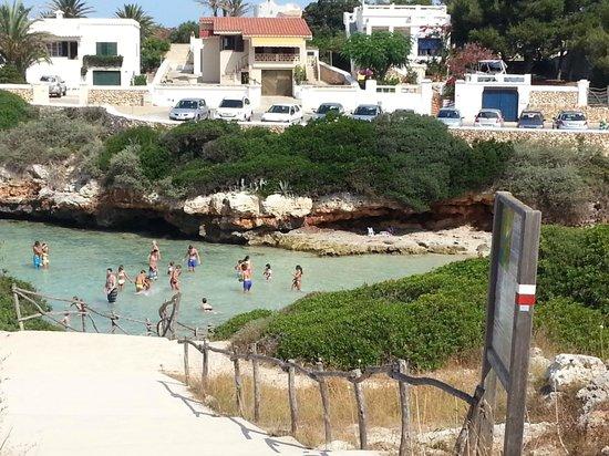 Cala Blanca Sun Hotel: Next beach along 20 minutes on bike