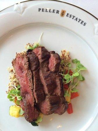 The Winery Restaurant at Peller Estates : Strip Loin Steak