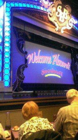 Showboat Branson Belle: Our seats were pretty close :)