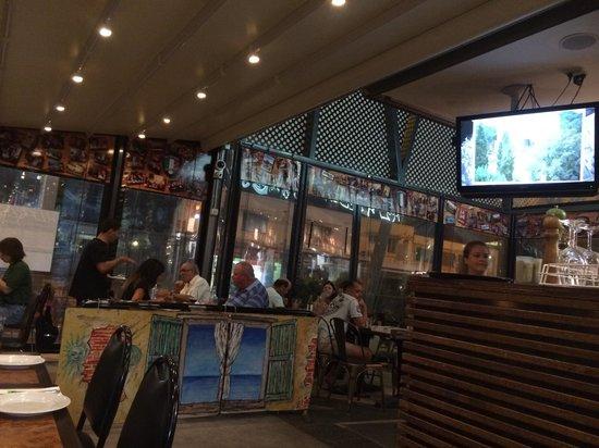 Alfresco Italian Restaurant: Dining area