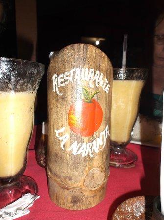 Soda La Naranja: Restaurante Naranja