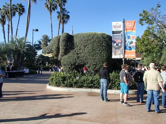 San Diego Zoo : Entrance to the Zoo