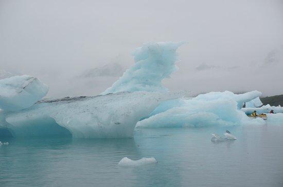 Columbia Glacier Kayaking