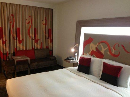 Hotel Novotel Taipei Taoyuan International Airport: Very comfortable room