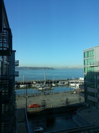 Seattle Marriott Waterfront: view from my room