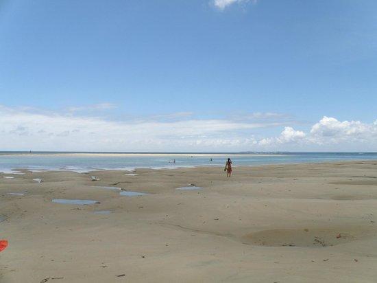 Fatuma's Tower: Shela beach at low tide