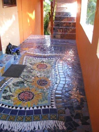 Mayan Beach Garden: just a simple tile job