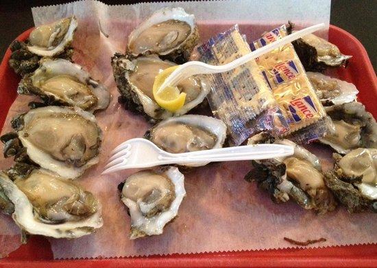Dozen Raw Oysters - Up the Creek Raw Bar