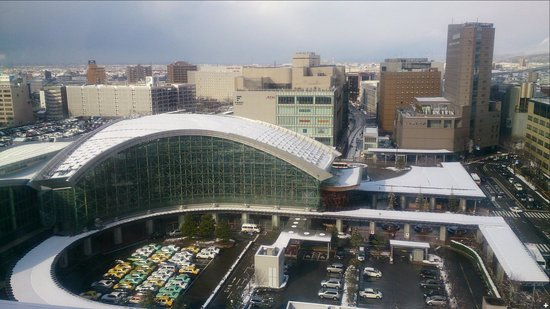ANA Crowne Plaza Hotel Kanazawa: 眼下に見るJR金沢駅