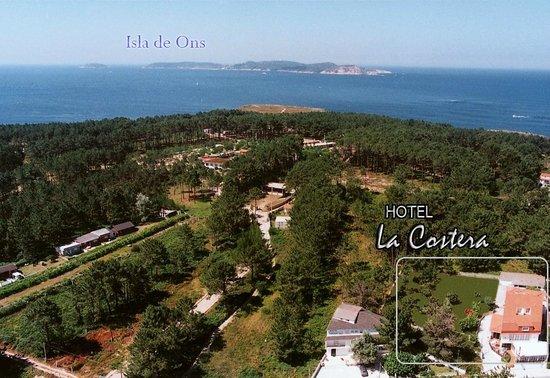 La Costera: Vista aérea, del hotel