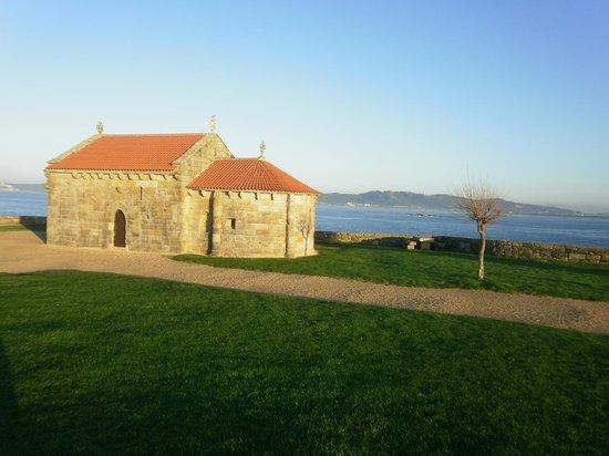 La Costera: Ermita ds Nuestra Señora da Lanzada