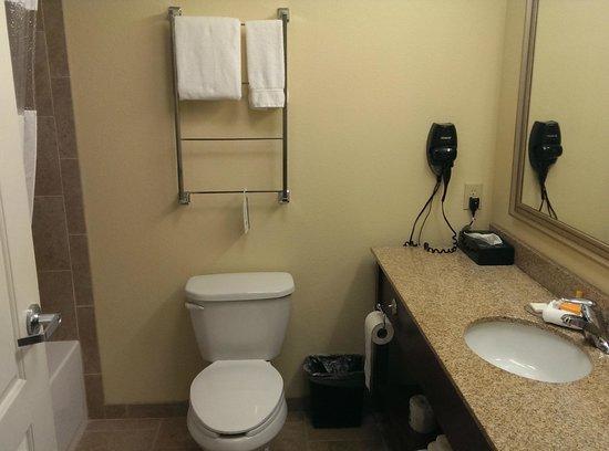 La Quinta Inn & Suites Dickinson: Bathroom