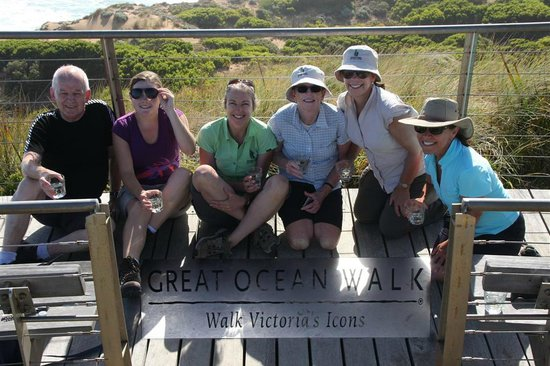 Hedonistic Hiking - Day Tours: Happy hikers at the end of the trail