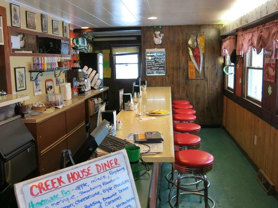 The Creek House Diner: Counter Service
