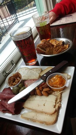 Superior Bathhouse Brewery & Distillery: Brew, Cheese & Meats appetizer