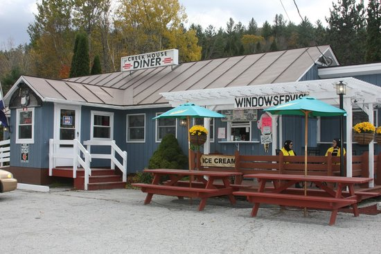 The Creek House Diner: Window Service & Deck