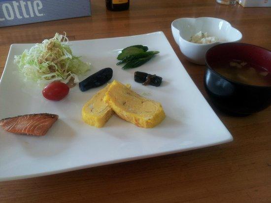 Minshuku Cress: Breakfast Day 2Cress  Biei