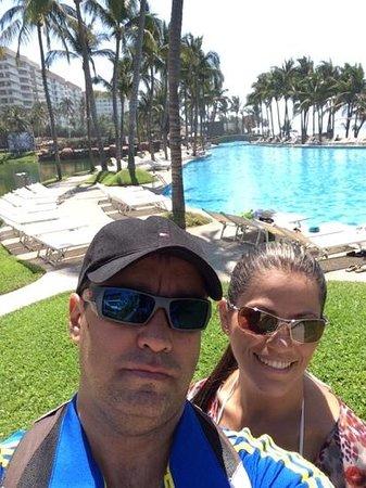 Mayan Palace Acapulco: en la piscina