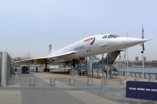 Intrepid Sea, Air & Space Museum : Concorde exterior is included in base admission price