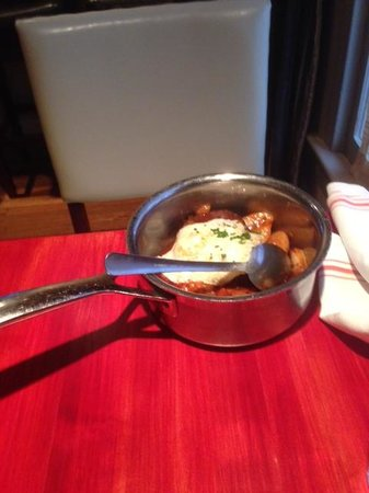 Salty Sow: Slow-cooked pork shoulder in a pan
