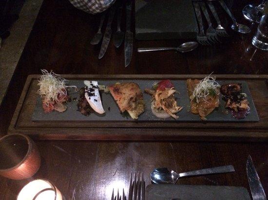 Peumayen Ancestral Food: Starter (tasting assortment)