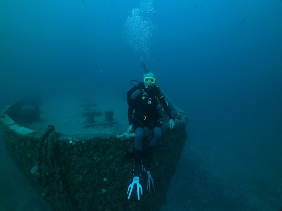 Ocean Divers : My dad, on the Duane