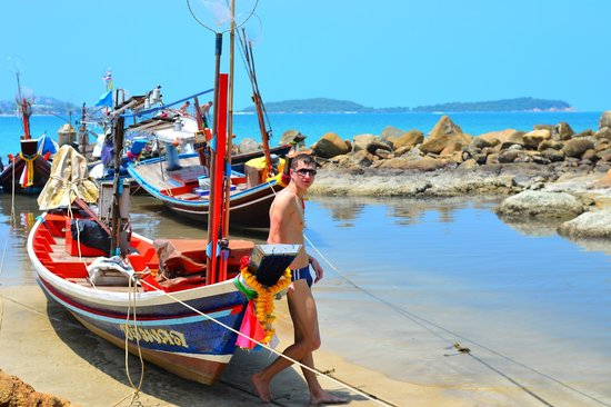 Chaweng Noi Beach: Чавенг пляж
