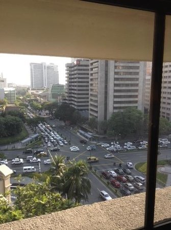 The Peninsula Manila: Zimmerausblick 10. Stock