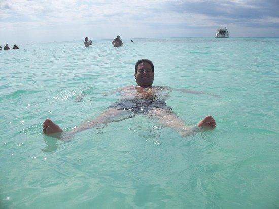 Isla Saona: Águas cristalinas