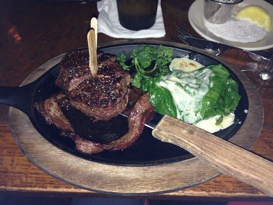 H3 Ranch: Bacon wrapped filet