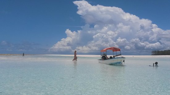 Kasha Boutique Luxury Hotel: gorgeous sandbank we visited
