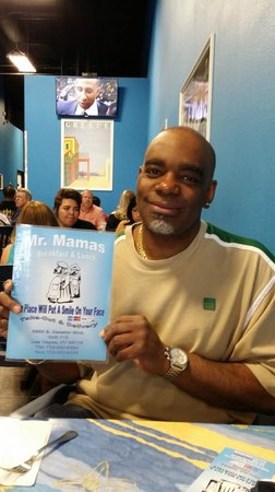 Mr. Mamas : Me.. at Mr. Mama's  ..March 23 2014