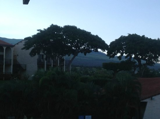 Aston Maui Hill: view of upcountry from lanai