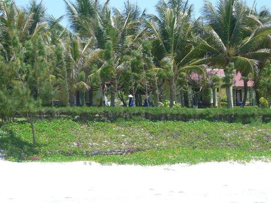 White Sand Doclet Resort & Spa : после пляжа территрия отеля