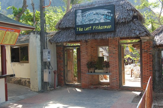 The Last Fisherman: the entrance during the day time