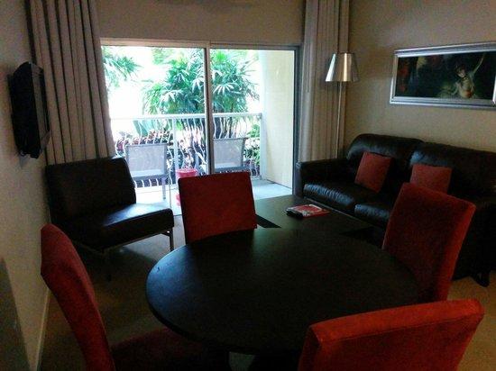 Meliá Orlando Hotel at Celebration : Living Room