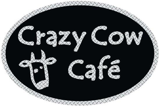 Crazy Cow Cafe: Crazy Cow Sign