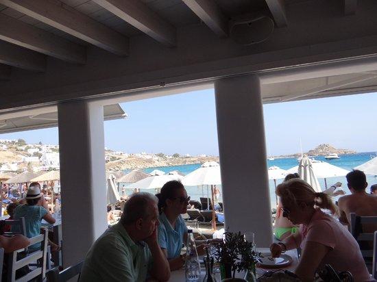 Avli Tou Thodori: Restaurant View