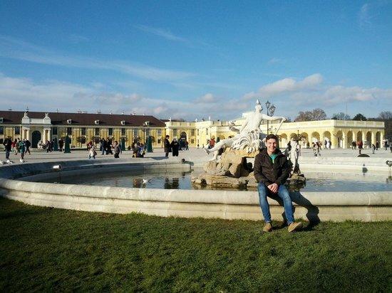 Schloss Schönbrunn: Перед Шенбрунном
