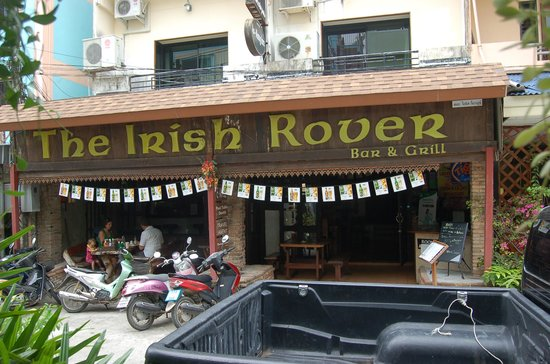 The Irish Rover: the entrance during the day time