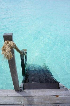 Gili Lankanfushi Maldives : If you have this, who needs a pool?